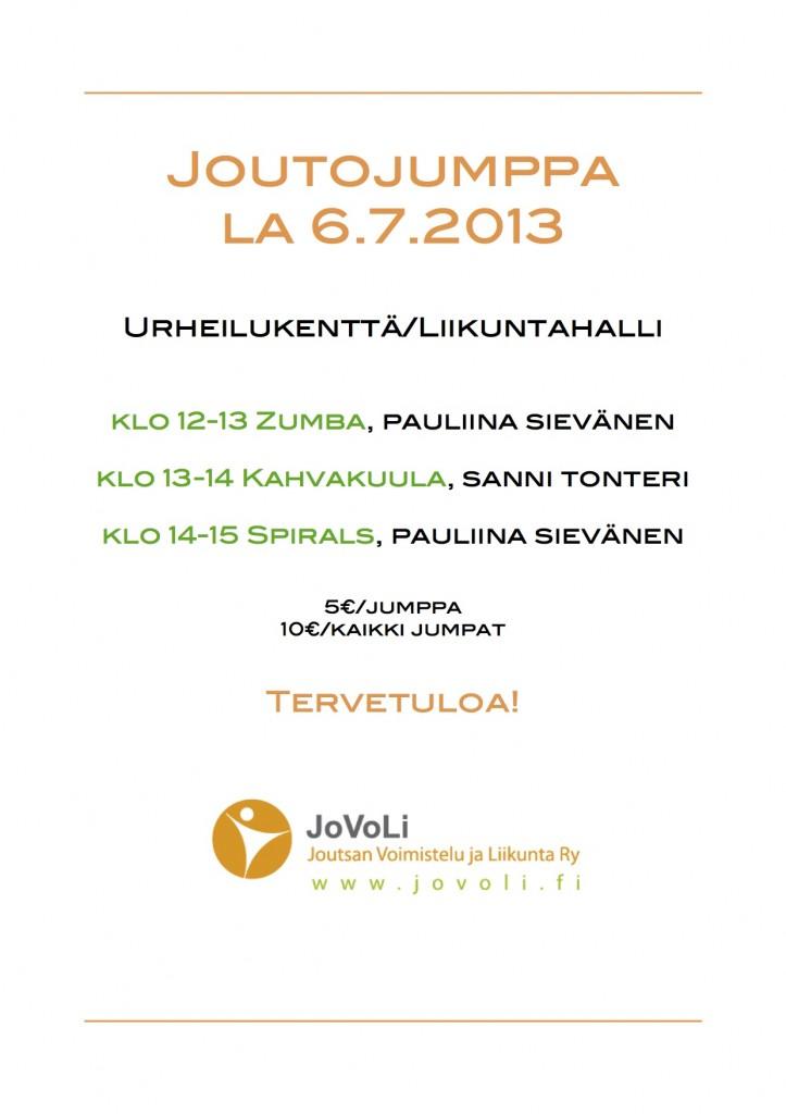Joutojumppa2013